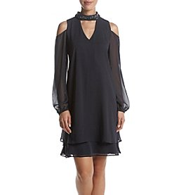 Xscape Cold Shoulder Dress