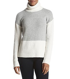 G.H. Bass & Co. Colorblock Turtleneck Sweater