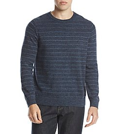 Nautica Men's Striped Crewneck Sweater