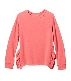It's Our Time Girls' 7-16 Ruffle Sweatshirt