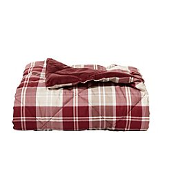 Living Quarters Mt Greylock Plaid Reversible Down Alternative Throw