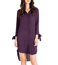 Standards & Practices Jay-Low Hi-Lo Shirt Dress
