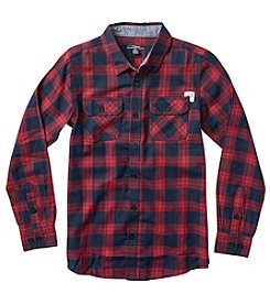 Silver Jeans Co. Boys' 8-20 Long Sleeve Flannel Shirt