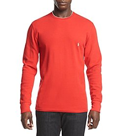 Polo Ralph Lauren Men's Big & Tall Waffle Knit Crew Shirt