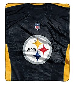 NorthWest NFL® Pittsburgh Steelers Grand Stand Throw Blanket