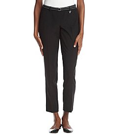 Studio Works Belted Ankle Pants
