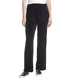 Studio Works Velvet Flare Pants