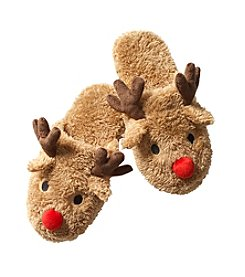 Collection 18 Women's Randy The Reindeer Slide Slippers