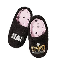 Cuddl Duds Nap Queen Slippers