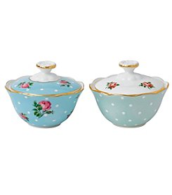 Royal Albert® Set of 2 Assorted New Country Roses Condiment Pots