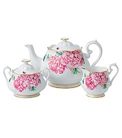 Miranda Kerr for Royal Albert® Friendship Teapot, Sugar & Creamer 3-Piece Set