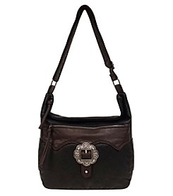 GAL Buckle Hobo Crossbody