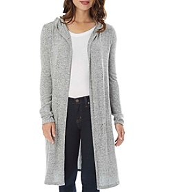 A. Byer Long Hooded Cardigan