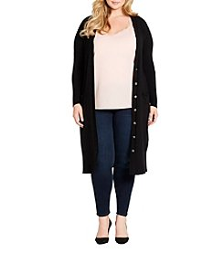 Jessica Simpson Plus Size Singer Duster Sweater Top