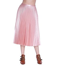 Skylar & Jade Pleated Midi Skirt