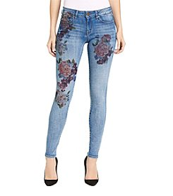 William Rast® Perfect Floral Printed Skinny Jeans