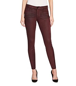 William Rast Faux-Suede Moto Pants