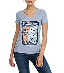 William Rast® Pilgrimage Festival V-Neck Top