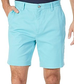 Nautica Men's Big & Tall Flat Front Shorts