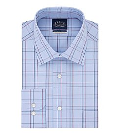 Eagle Men's Long Sleeve Plaid Button Down Dress Shirt