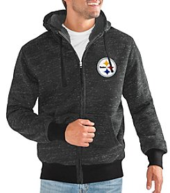 G III NFL® Pittsburgh Steelers Men's Heathered Discovery Jacket