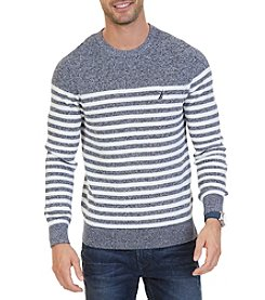 Nautica Men's Long Sleeve Crewneck Sweater