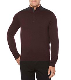 Perry Ellis® Men's Long Sleeve Colorblock Pullover