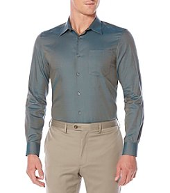 Perry Ellis® Men's Long Sleeve Mini Brick Button Down