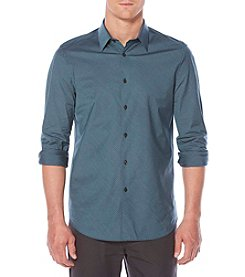 Perry Ellis® Men's Long Sleeve Striped Button Down