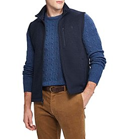 Polo Ralph Lauren Men's Fleece Mock Neck Vest