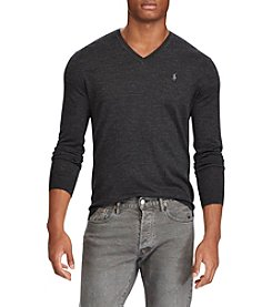 Polo Ralph Lauren® Men's Long Sleeve Merino Wool Sweater