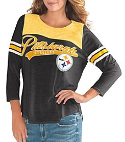 G III Pittsburgh Steelers Touchdown Long Sleeve Shirt