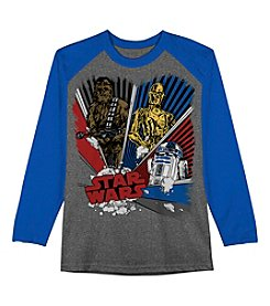 Star Wars™ Boys' 8-20 Long Sleeve Star Wars Rebel Burst Shirt