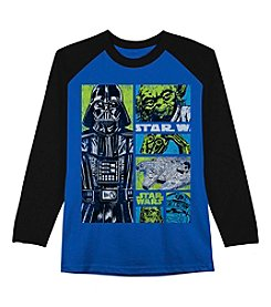 Star Wars™ Boys' 8-20 Long Sleeve Star Wars Comic Force Shirt