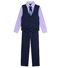Nautica Boys' 2T-7 3 Piece Vest Set