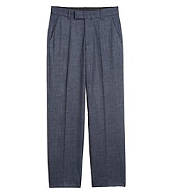 Calvin Klein Boys' 8-20 Pleated Dress Pants