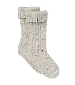 UGG® Girls' Cable Knit Boot Socks