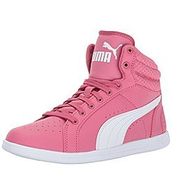 PUMA® Girls' Ikaz Mid V2 JR Shoes