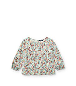 Polo Ralph Lauren® Girls' 2T-16 Knit Floral Top