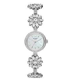 kate spade new york Women's Stainless Steel Silvertone Daisy Watch