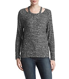 Ivanka Trump Athleisure Knit Top