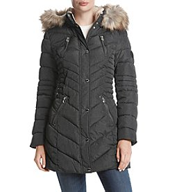 Laundry Ruched Waist Down Jacket