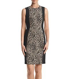 Calvin Klein Leopard Print Dress