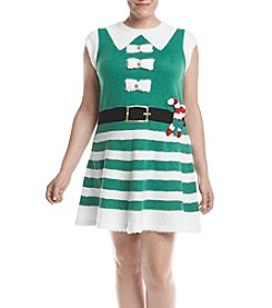 Love Always Plus Size Elf Fit N Flare Dress
