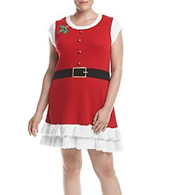 Love Always Plus Size Mrs Claus Dress