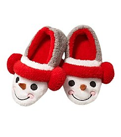 PJ Couture Snowman Sherpa Moccasins
