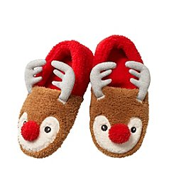 PJ Couture Deer Sherpa Moccasins