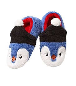 PJ Couture Penguin Sherpa Moccasins