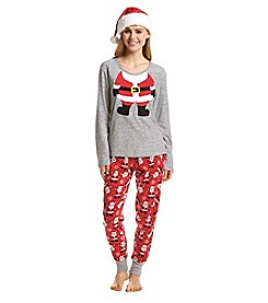 Zoe & Bella @BT Pajama Hat Santa Set