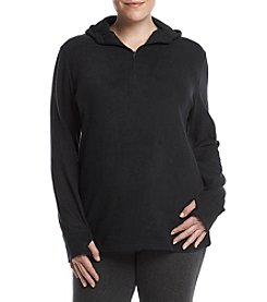 Cuddl Duds Plus Size Warmwear Fleece Hoodie